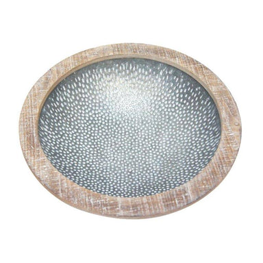 Stoneleigh & Roberson Jayna Metal Bowl (36.5cm) | Koop.co.nz