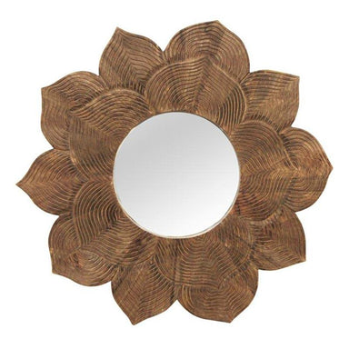 Stoneleigh & Roberson Lotus Flower Mirror (90cm) | Koop.co.nz