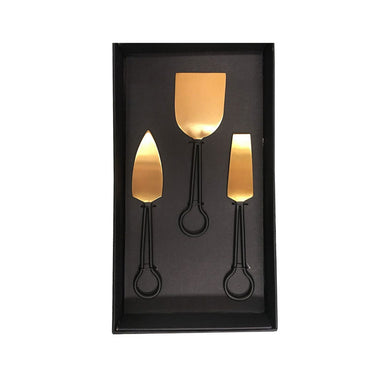Rembrandt Fine Arts Marvel Gold Cheese Serving Set | Koop.co.nz