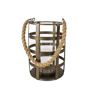 Rembrandt Fine Arts Small Industrial Cage Lantern | Koop.co.nz