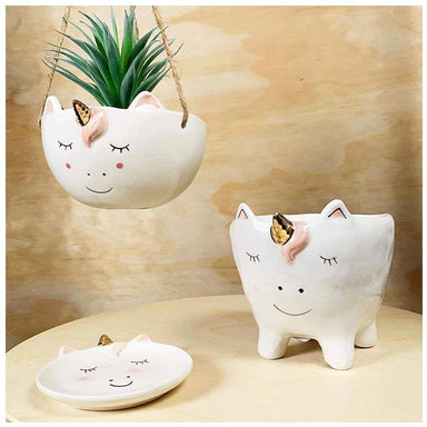 Urban Products Hanging Unicorn Planter | Koop.co.nz
