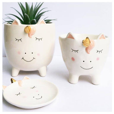 Urban Products Unicorn Planter (10.5cm) | Koop.co.nz