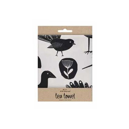 New Zealand Birds & Fauna Tea Towel | Koop.co.nz