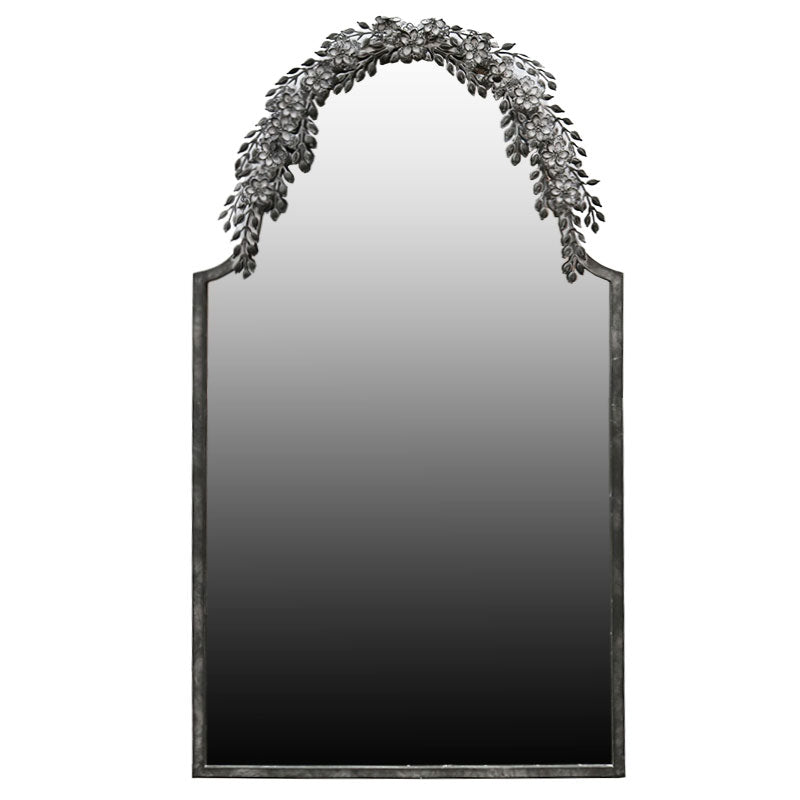 Le Forge Large Black Fern Mirror (135cm) | Koop.co.nz