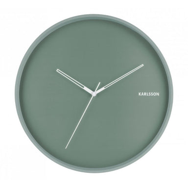 Karlsson Hue Wall Clock – Steel Green (40cm) | Koop.co.nz