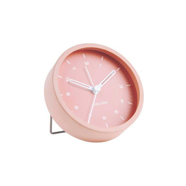 Karlsson Tinge Alarm Clock - Pink | Koop.co.nz