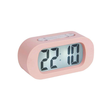 Karlsson Gummy Digital Alarm Clock - Pink | Koop.co.nz