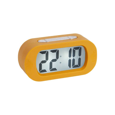 Karlsson Gummy Digital Alarm Clock - Yellow | Koop.co.nz
