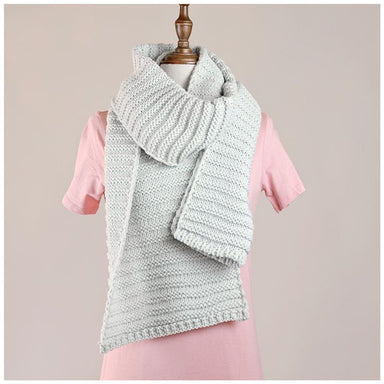 Hello Friday Best Friend Knit Scarf – Ice | Koop.co.nz