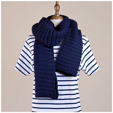 Hello Friday Best Friend Knit Scarf – Ink | Koop.co.nz