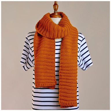 Hello Friday Best Friend Knit Scarf – Spice | Koop.co.nz