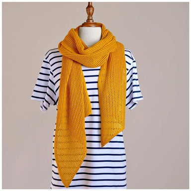Hello Friday Stylist Scarf - Mustard | Koop.co.nz