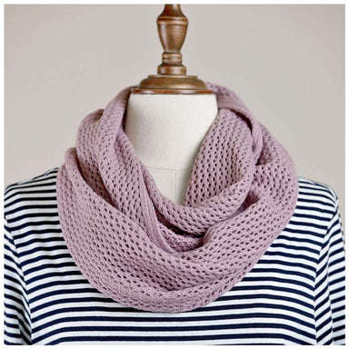 Hello Friday MVP Infinity Scarf - Mauve | Koop.co.nz