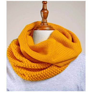 Hello Friday Innovator Infinity Scarf – Mustard | Koop.co.nz