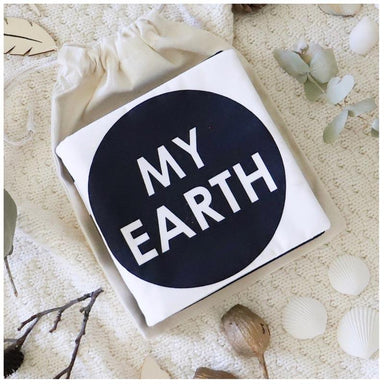 My Family Book My Earth Luxe Soft Book | Koop.co.nz