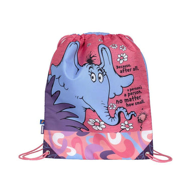 Amooze Dr Seuss Drawstring Bag – Horton Hears A Who | Koop.co.nz