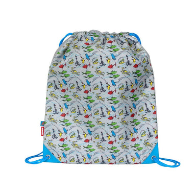 Amooze Dr Seuss Drawstring Bag – One Fish Two Fish (Tile) | Koop.co.nz