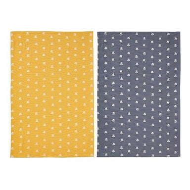 Ulster Weavers Cotton Bee Tea Towel Pack (2pc) | Koop.co.nz