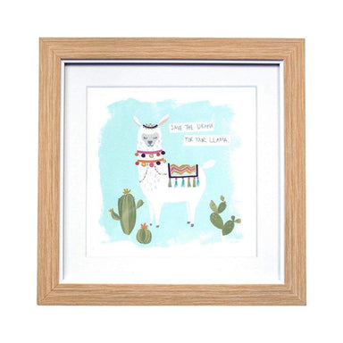 LaVida Save The Drama Llama Framed Wall Art (30cm) | Koop.co.nz