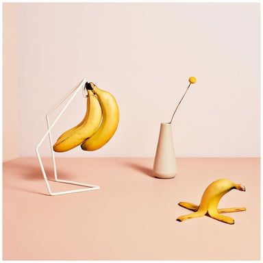 Bendo Luxe Bunch Banana Stand - White | Koop.co.nz