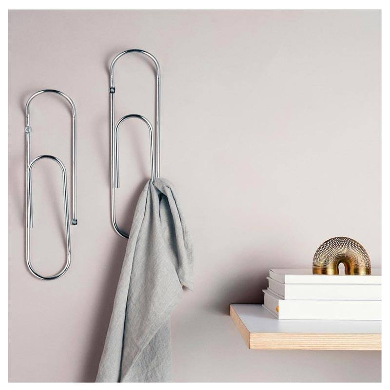 Bendo Luxe Clip Wall Hook - Chrome | Koop.co.nz
