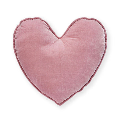 Nana Huchy Velvet Heart Cushion - Pink (40cm) | Koop.co.nz
