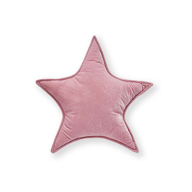 Nana Huchy Velvet Star Cushion - Pink (25cm) | Koop.co.nz