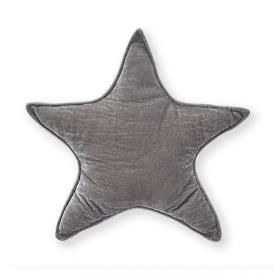 Nana Huchy Velvet Star Cushion - Grey (40cm) | Koop.co.nz
