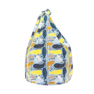 Cocoon Couture Kids Whale Bean Bag & Liner - Small | Koop.co.nz