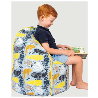 Cocoon Couture Kids Whale Bean Bag & Liner | Koop.co.nz