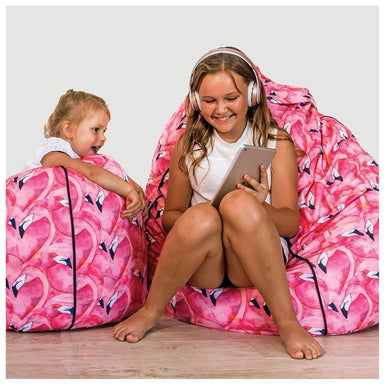 Cocoon Couture Kids Flamingo Bean Bag & Liner | Koop.co.nz