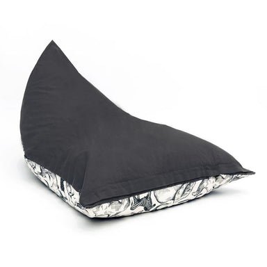 Cocoon Couture Kids Wild Ones Bean Bag & Liner - Charcoal | Koop.co.nz