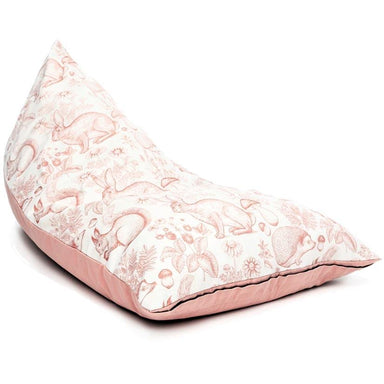 Cocoon Couture Kids Wild Ones Bean Bag & Liner - Pink | Koop.co.nz