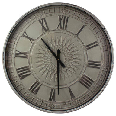 Rembrandt Fine Arts Large Metal Sunburst Wall Clock (80cm) | Koop.co.nz