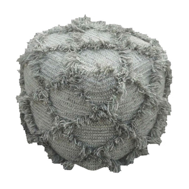 Rembrandt Fine Arts Grey Woollen Pouf | Koop.co.nz