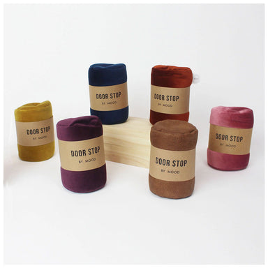 Mood Velvet Door Stop - Mustard | Koop.co.nz