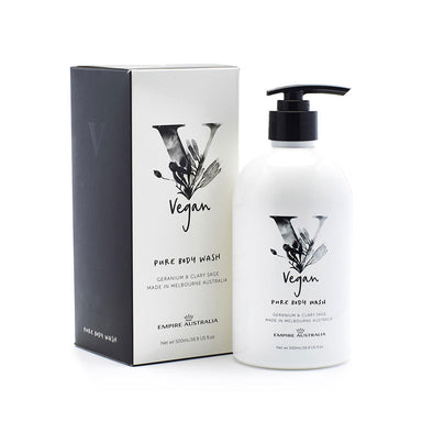 Empire Australia Vegan Pure Body Wash - Geranium & Clary Sage (500ml) | Koop.co.nz