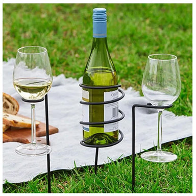 Maverick Picnic Wine Stake Set (3pc) | Koop.co.nz