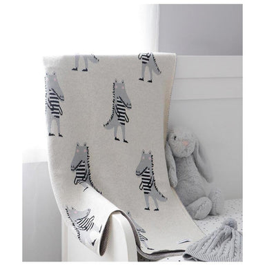 Di Lusso Living Ali Alligator Baby Blanket | Koop.co.nz