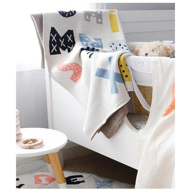 Di Lusso Living ABCD Baby Blanket | Koop.co.nz