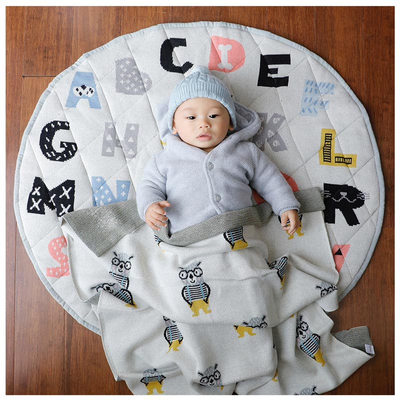 Di Lusso Living ABCD Baby Playmat | Koop.co.nz