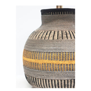 Stoneleigh & Roberson Tribal Resin Lamp (48.5cm) | Koop.co.nz