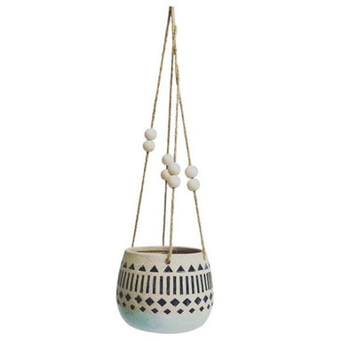 Urban Products Kyra Hanging Planter - Navy | Koop.co.nz