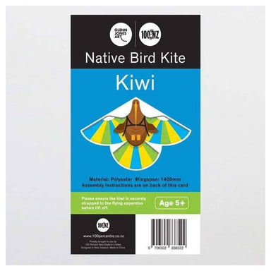 100% New Zealand Native Bird Kite - Kiwi | Koop.co.nz