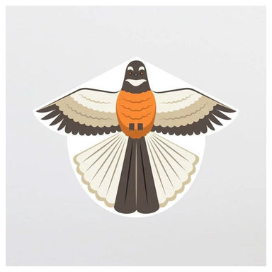 100% New Zealand Native Bird Kite - Fantail | Koop.co.nz