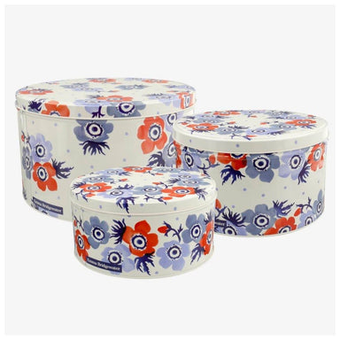 Emma Bridgewater Anemone Cake Tin Set/3 | Koop.co.nz