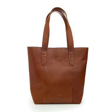 Stitch & Hide Leather Isabelle Tote Shoulder Bag - Maple | Koop.co.nz