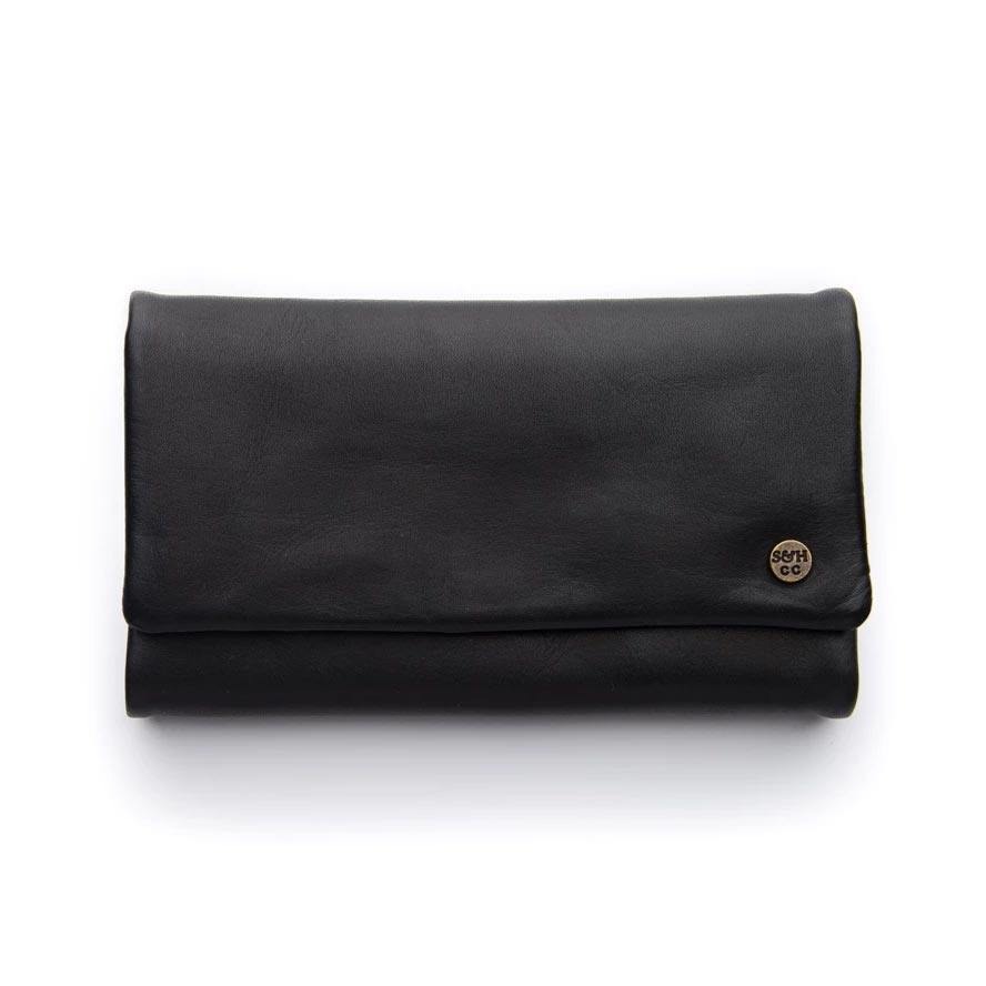 Stitch & Hide Women's Leather Paiget Wallet Classic Collection - Espresso | Koop.co.nz
