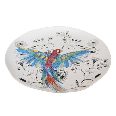 Kerridge Organic Parrot Serving Plate (36.5cm) | Koop.co.nz