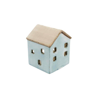 Linens & More Blue House Tea Light Holder | Koop.co.nz